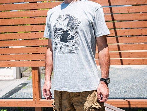 くまモンのサーフTシャツ