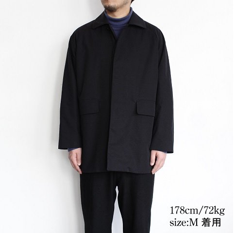 【YAECA ヤエカ】 <br>CONTEMPO<br>Short Coat<br>《BLACK》