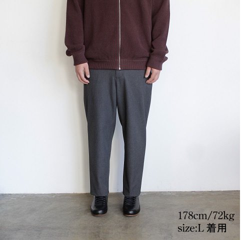 【YAECA ヤエカ】 <br>CONTEMPO<br>2Way Pants Wide Tapered <br>《C.GRAY》