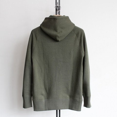 【CURLY カーリー】 <br>Bright Zip Parka<br>《OLIVE》