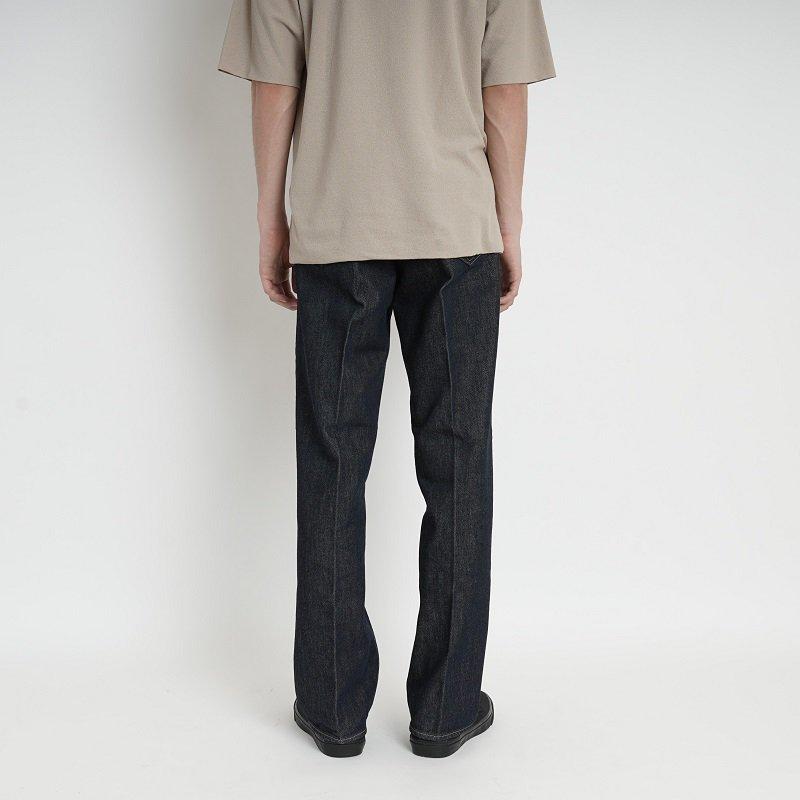 【AURALEE オーラリー】HARD TWIST DENIM 5P PANTS -MEN- / INDIGO