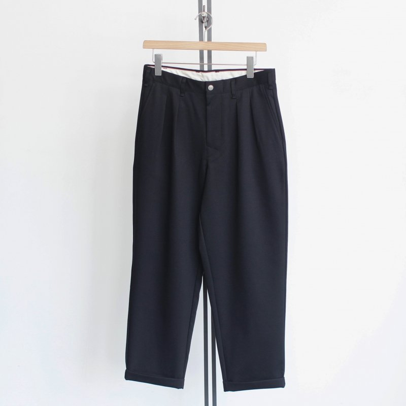 【CURLY カーリー】 <br>Advance Wide Trousers<br>《BLACK》