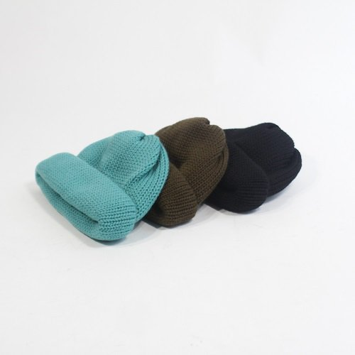 【COMESANDGOES カムズアンドゴーズ】 ROLL KNIT / 3COLOR