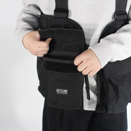 【BATTLE LAKE バトルレイク】GAME VEST / BLACK