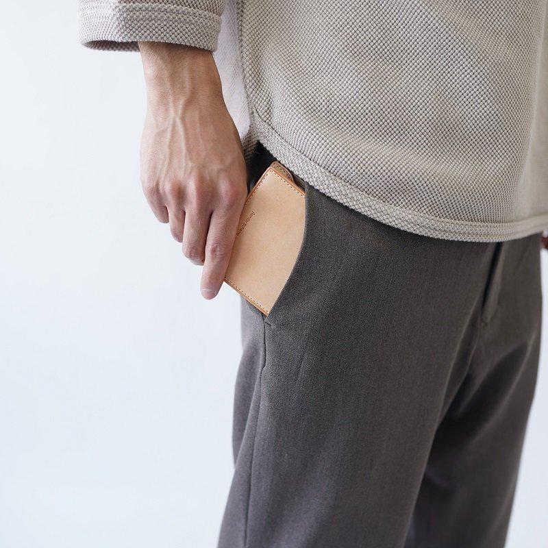 【Hender Scheme エンダースキーマ】half folded wallet / 2COLOR