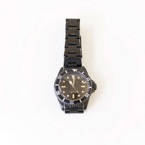 【VAGUE WATCH Co. 】BLK SUB STEINLESS / BLACK