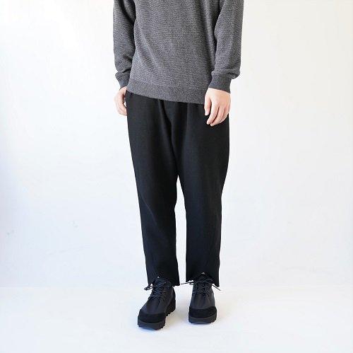 【Hender Scheme エンダースキーマ】nylon lace / BLACK