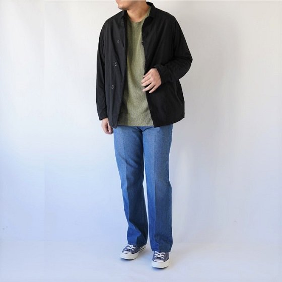 【AURALEE オーラリー】HARD TWIST DENIM 5P PANTS -MEN- / LIGHT INDIGO