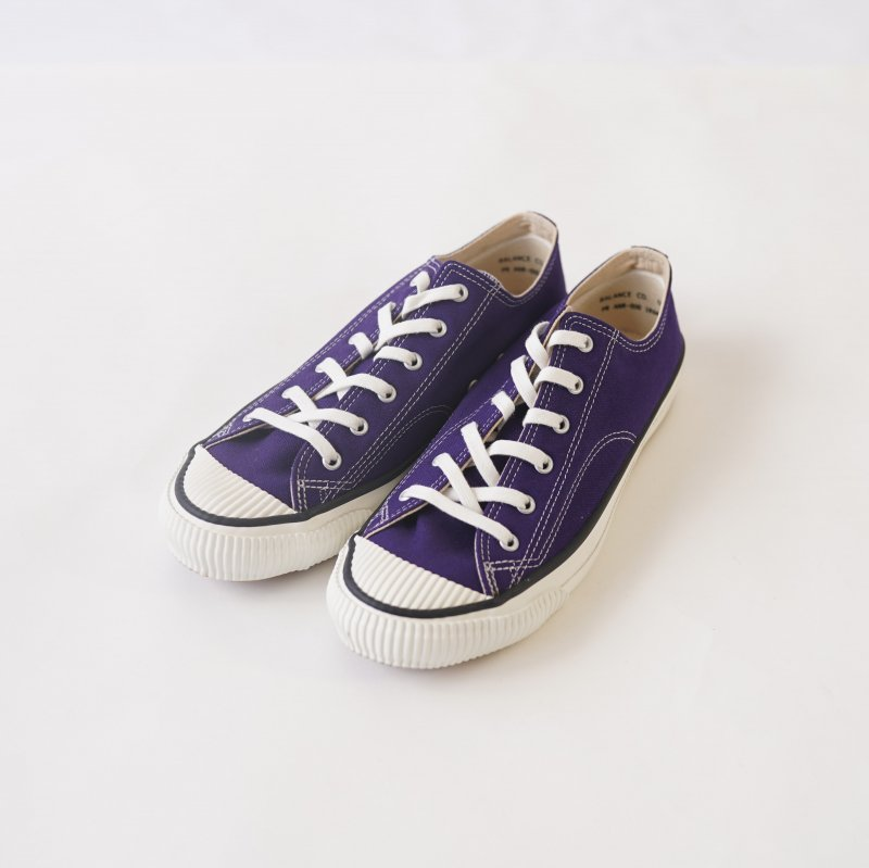 【PRAS プラス】SHELLCAP COLOR LOW / PURPLE×WHITE