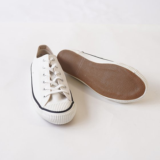 【PRAS プラス】SHELLCAP COLOR LOW / WHITE×WHITE