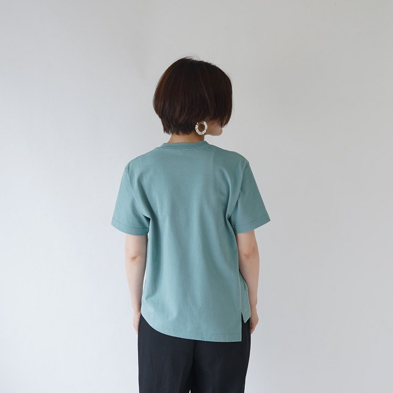 【SCYE サイ】HALF TWIST T-SHIRT / SAGE GREEN