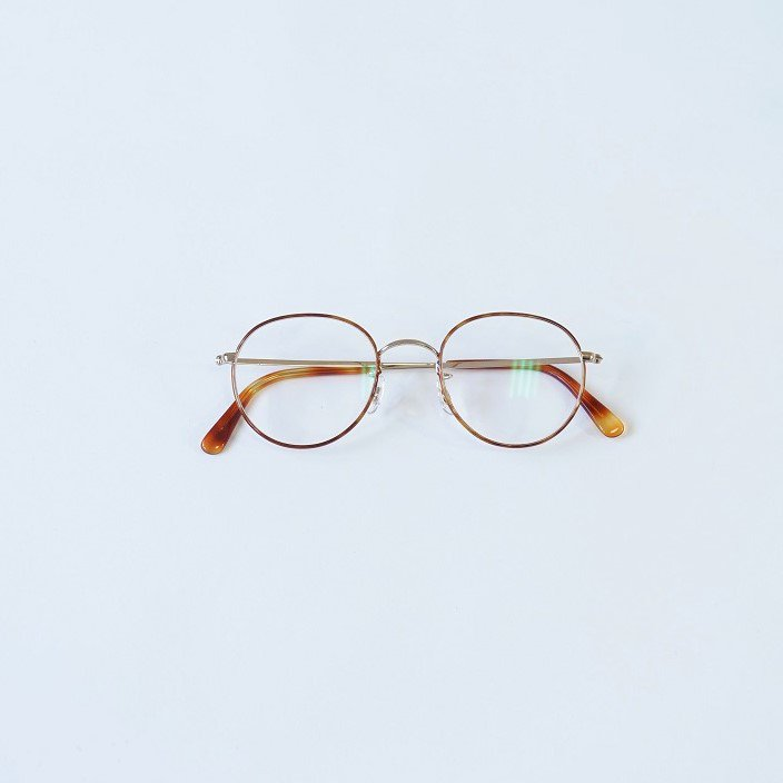 【Buddy Optical】princeton / GOLD×ENAMEL