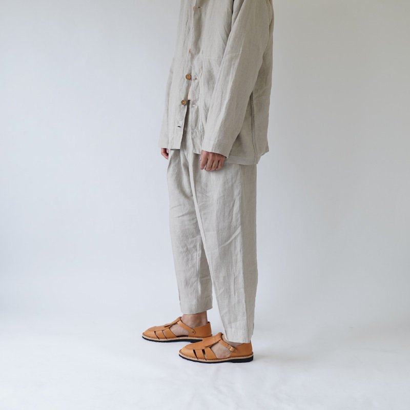【Lane Forty Five レーン45】TROUSERS / NATURAL