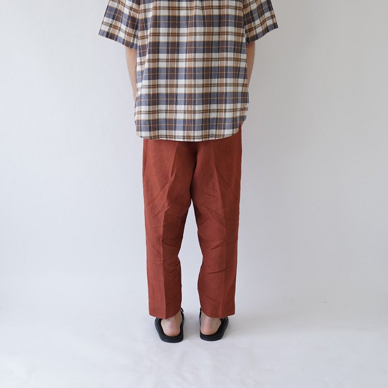 【Lane Forty Five レーン45】TROUSERS / RUST ORANGE