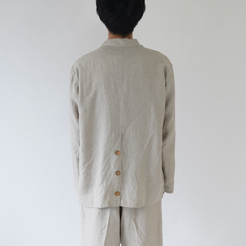 【Lane Forty Five レーン45】SUMMER OVERSHIRT / NATURAL