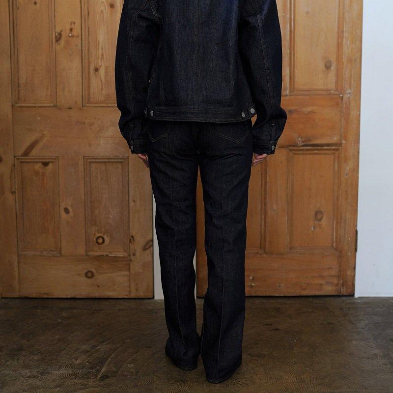 【AURALEE オーラリー】HARD TWIST DENIM 5P PANTS -WOMEN- / INDIGO