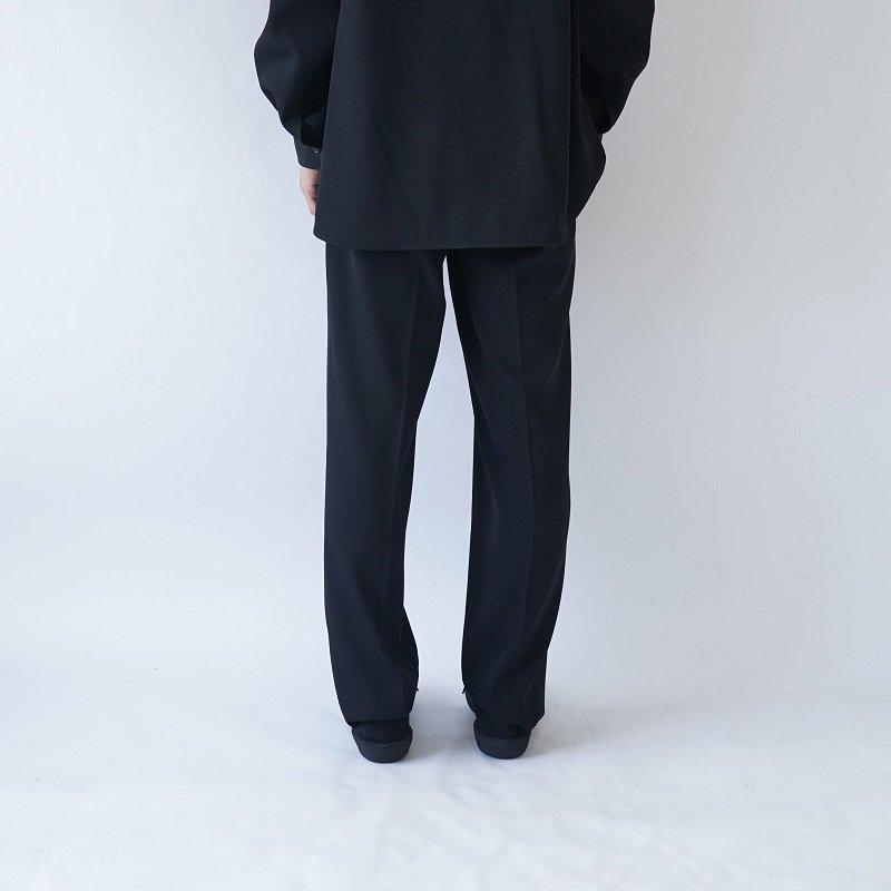 【AURALEE オーラリー】WOOL MAX GABARDINE SLACK -MEN- / BLACK