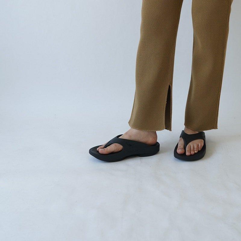 【PHEENY フィーニー】BIG WAFFLE SLIT PANTS / CAMEL