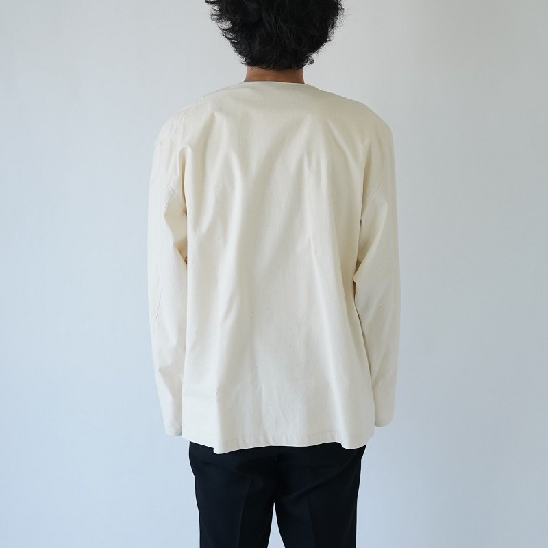 【POLYPLOID ポリプロイド】MILITARY SHIRT A / OFF WHITE