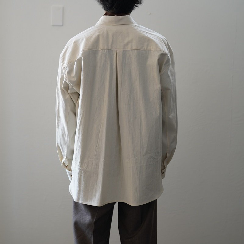 【POLYPLOID ポリプロイド】SHIRT JACKET A / OFF WHITE
