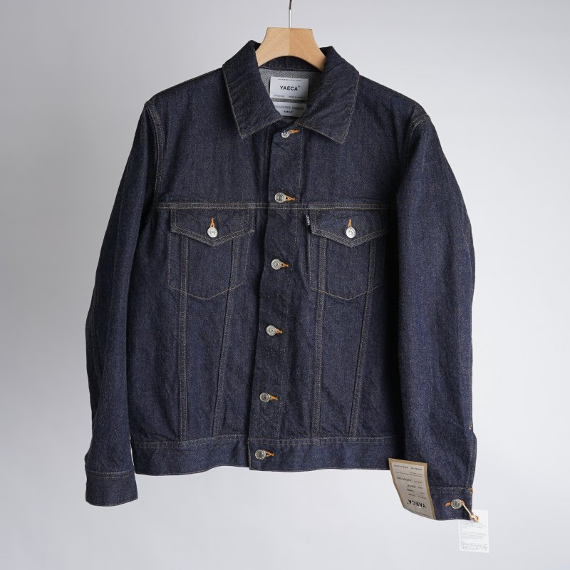 【YAECA ヤエカ】DENIM JACKET / INDIGO
