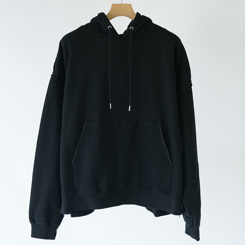 【YOKE ヨーク】PIPING WIDE PARKA / BLACK