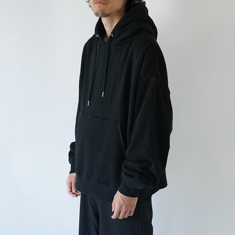 【YOKE ヨーク】PIPING WIDE PARKA / BLACK