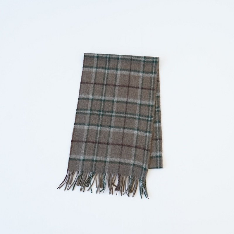 【loomer ルーマー】YAK CHECK MAFFLER SMALL