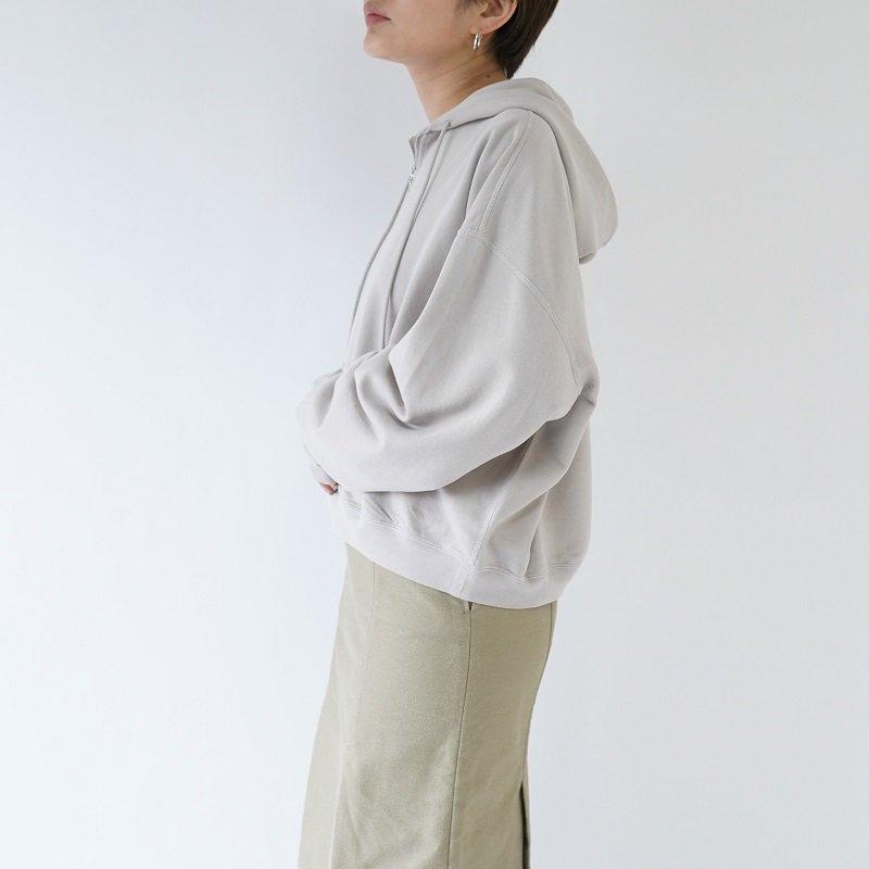 【AURALEE オーラリー】 SUPER SOFT SWEAT BIG P/O PARKA -WOMEN- / LIGHT GRAY