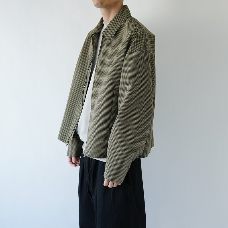 【YOKE ヨーク】CUT-OFF DRIZZER JACKET / YELLOW