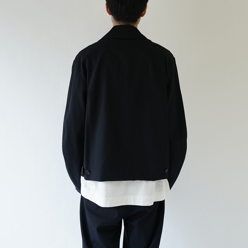 【URU ウル】 ZIP UP BLOUSON / NAVY
