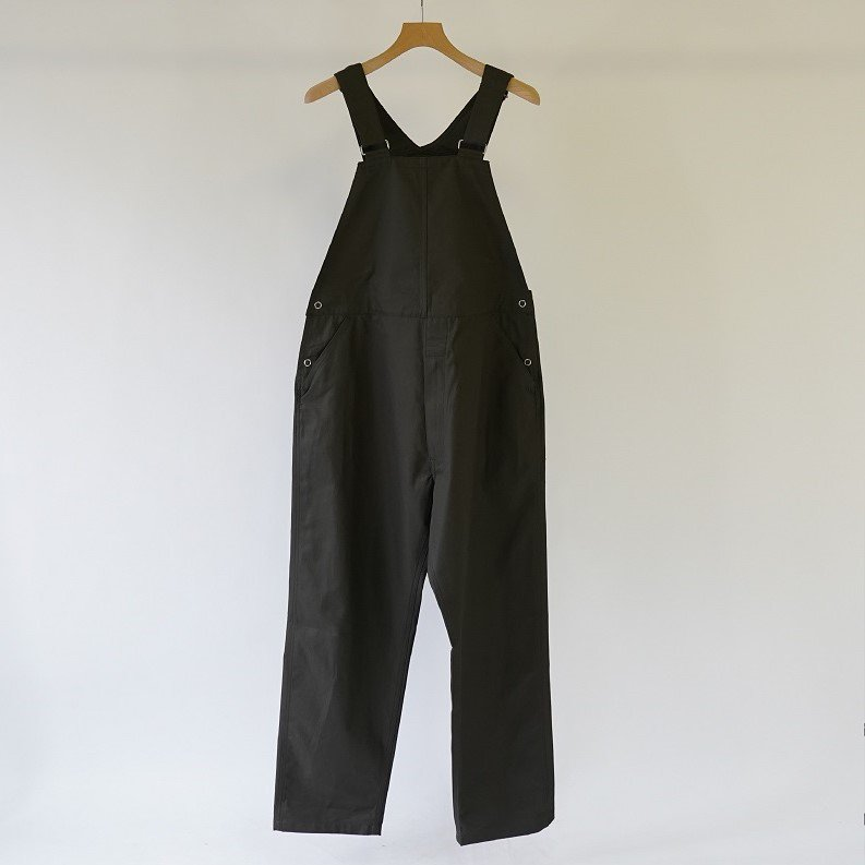 【WELLDER ウェルダー】TAPERED OVERALL / CHARCOAL GRAY