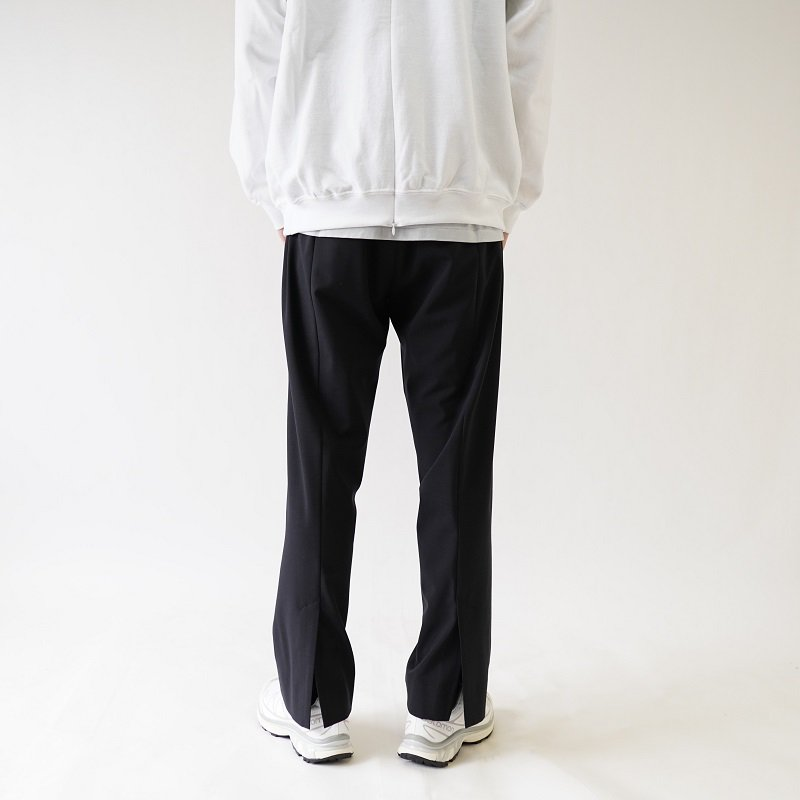 【YOKE ヨーク】BACK SLIT STRAIGHT PANTS / DARK NAVY