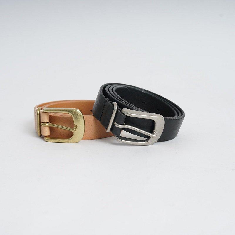【Hender Scheme エンダースキーマ】 shrink shoulder belt / NATURAL