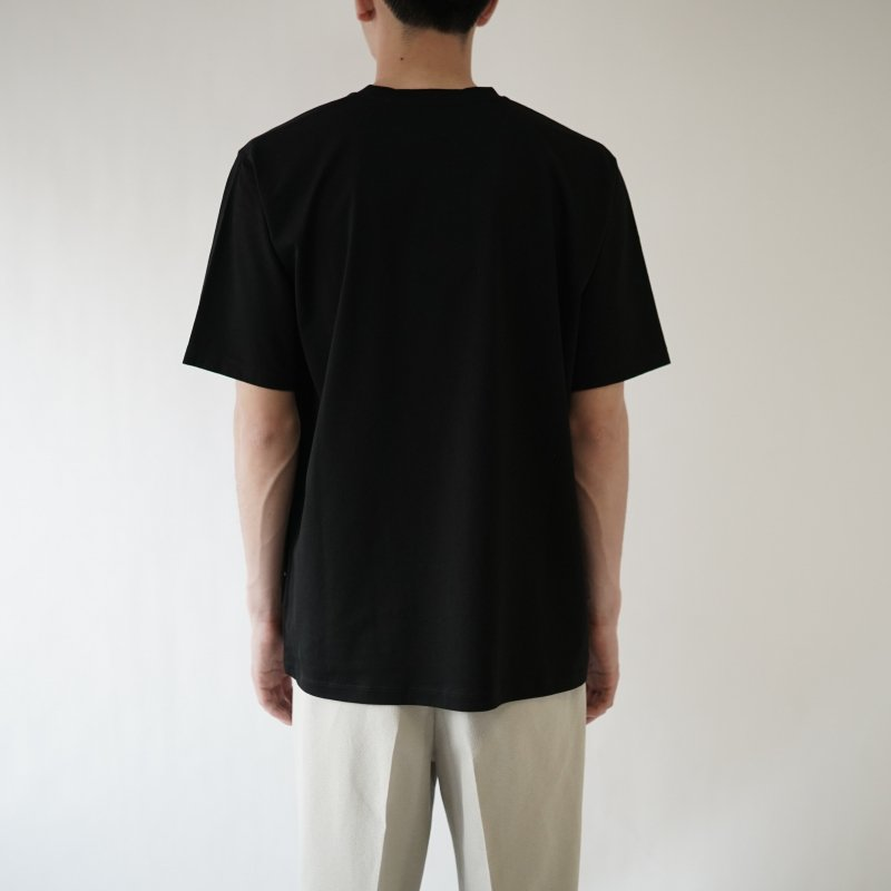 【BATONER バトナー】GIZA SUPER SOFT T-SHIRT  / BLACK<img class='new_mark_img2' src='https://img.shop-pro.jp/img/new/icons20.gif' style='border:none;display:inline;margin:0px;padding:0px;width:auto;' />