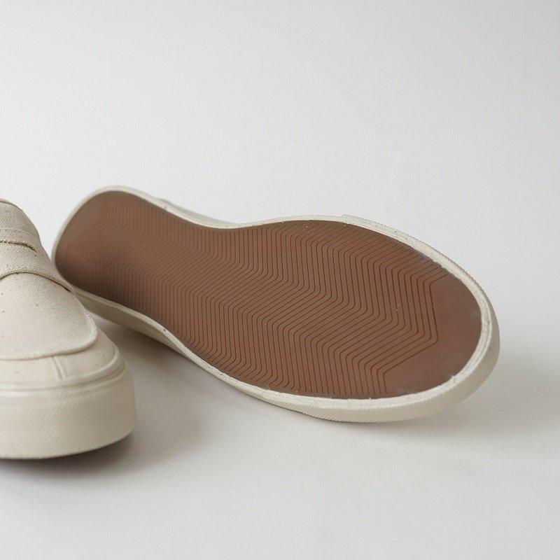 【PRAS プラス】PENNY SLIP-ON / KINARI×OFF WHITE
