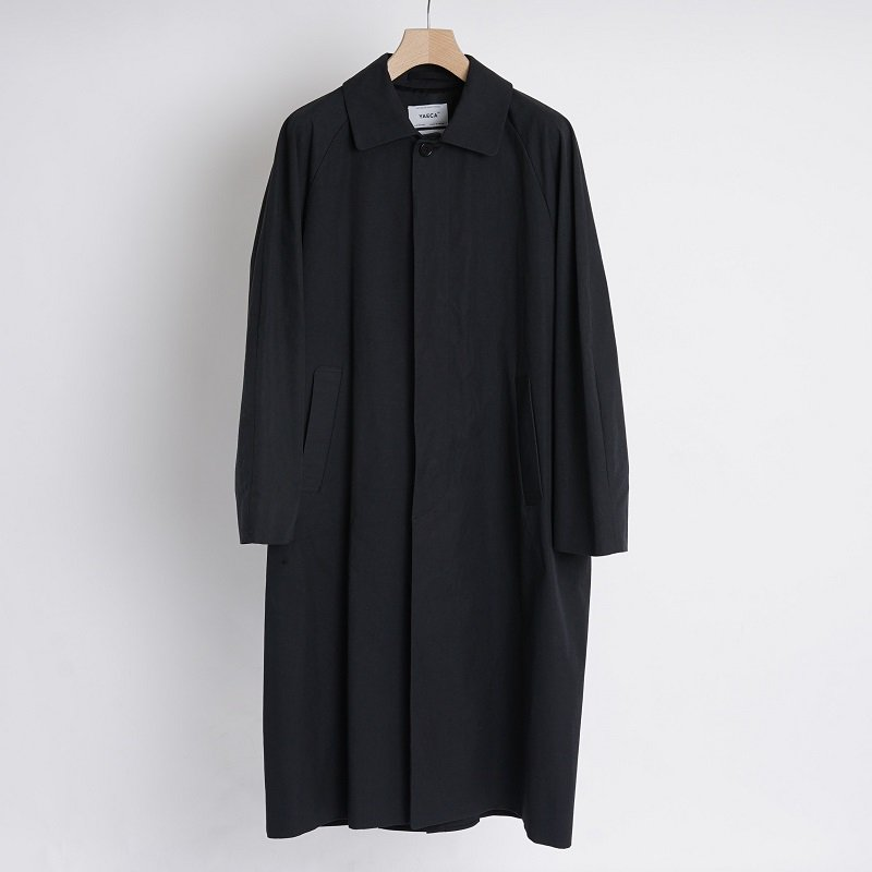 【YAECA ヤエカ】SOUTIEN COLLAR COAT LONG / NAVY