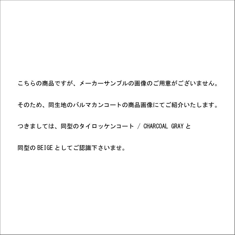 【予約商品】【CIOTA シオタ】 スビンコットン タイプライター タイロッケンコート / BEIGE