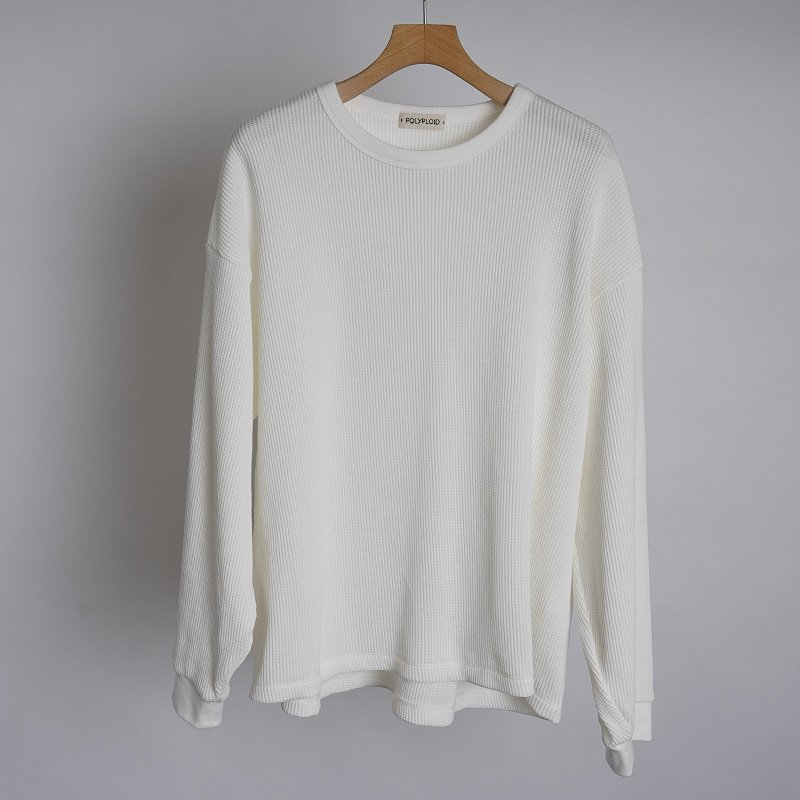 【POLYPLOID ポリプロイド】OVERSIZE LONGSLEEVE B