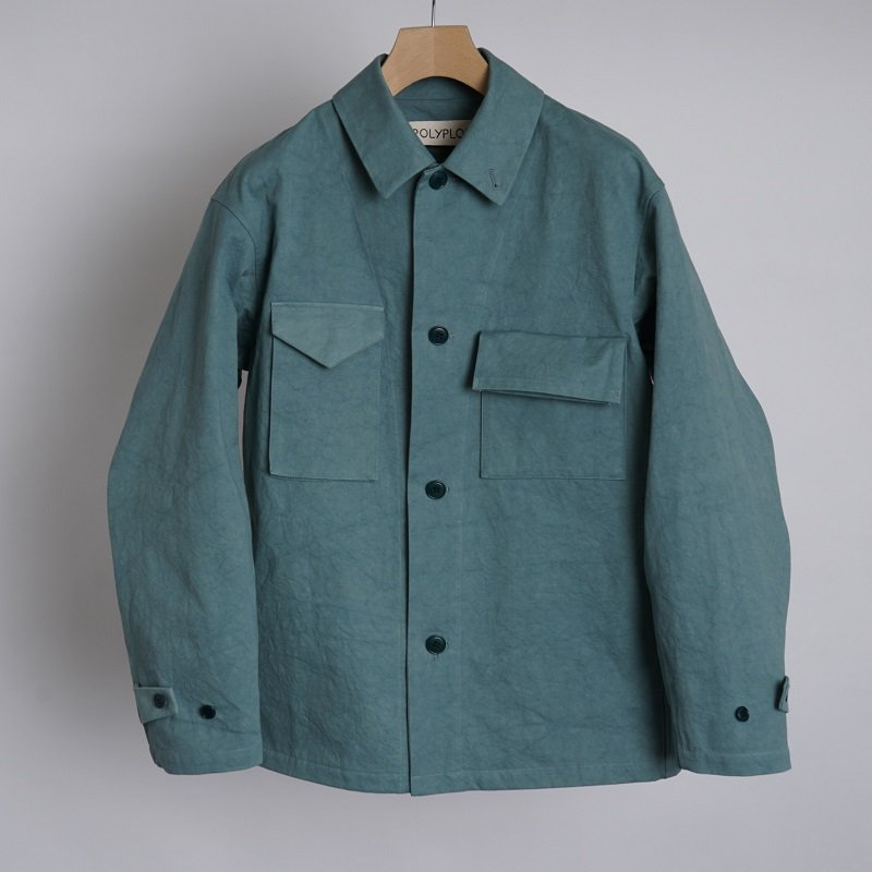 【POLYPLOID ポリプロイド】WORKWEAR JACKET C / BLUE GRAY