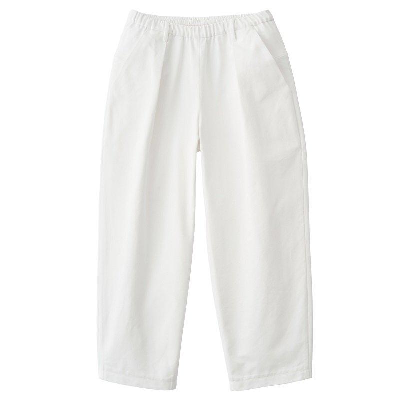 【TEATORA】 WALLET PANTS RESORT TL / WHITE -LIMITED ITEM-