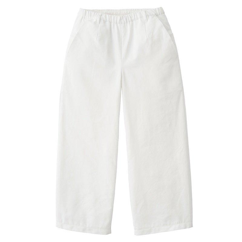【TEATORA】 WALLET PANTS HOTEL TL / WHITE -LIMITED ITEM-