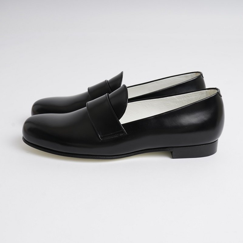 【foot the coacher フットザコーチャー】  FRENCH LOAFER  / BLACK