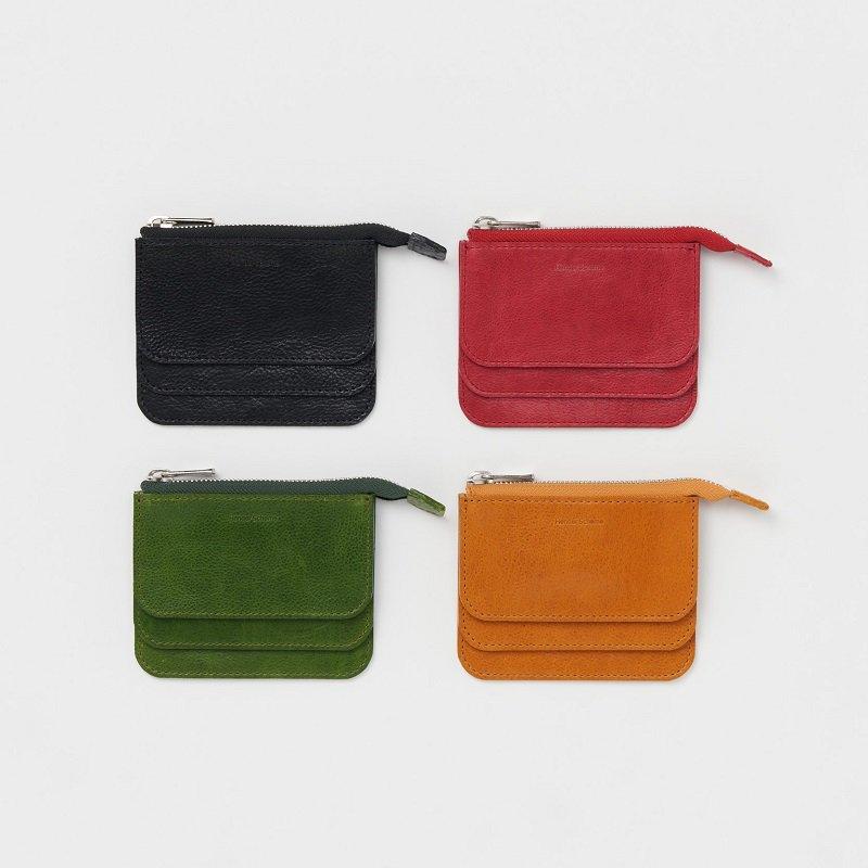 【Hender Scheme エンダースキーマ】 3 layered purse / 3COLOR