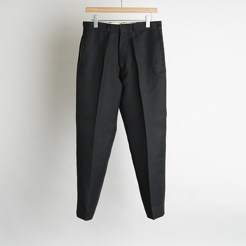 【saby サバイ】 POLY WORK PANTS -FULLY DULL SPAN TWILL- / BLACK