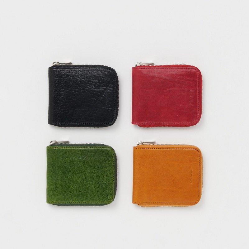 【Hender Scheme エンダースキーマ】 horizontal zip purse / 3COLOR