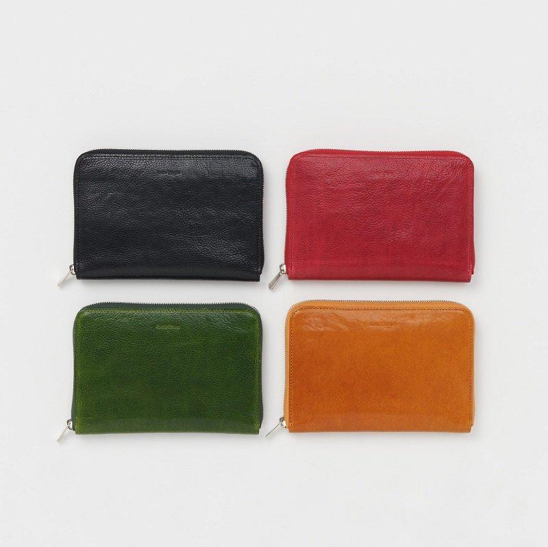 【Hender Scheme エンダースキーマ】 bank zip purse / BLACK