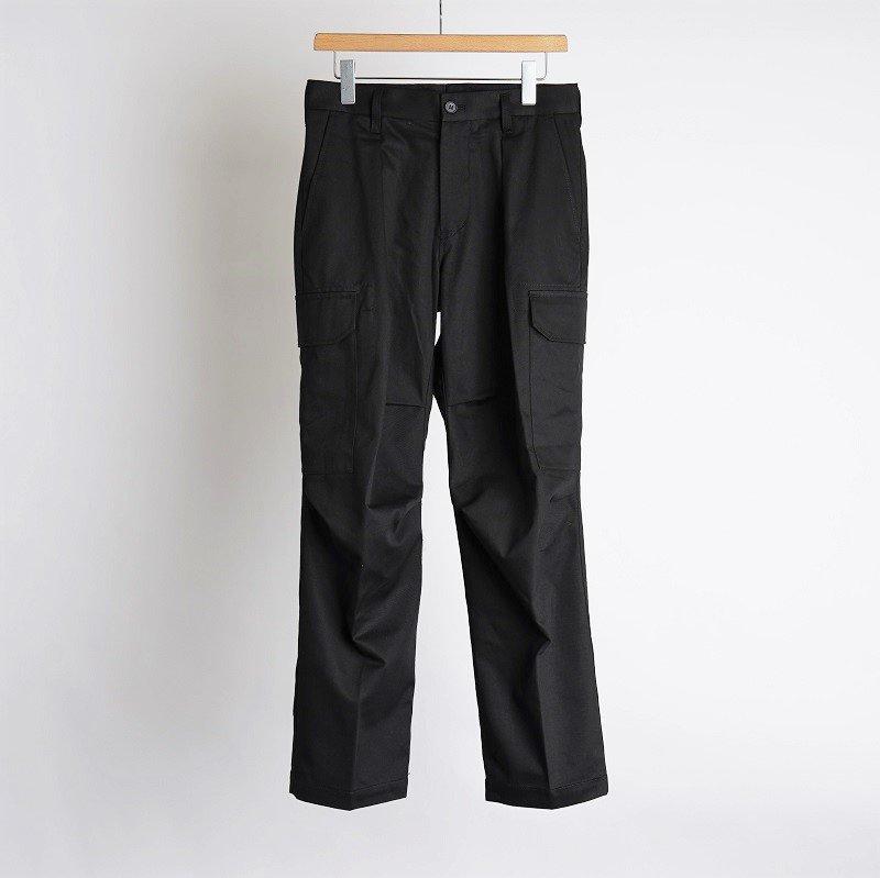 【POLYPLOID ポリプロイド】 CARGO TACK PANTS C / BLACK