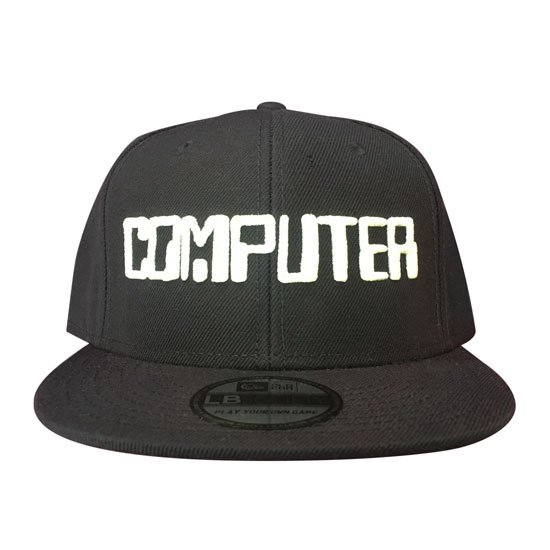 09dc1c0f41c41 GAMING CAPS COMPUTER BLACK-WHITE - TASTEE OUTFITTERS