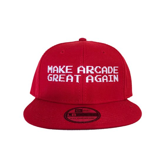 ed83dd38b8d76 GAMING CAPS MAGA RED - TASTEE OUTFITTERS